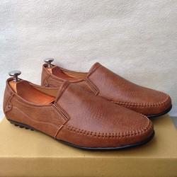 Giày lười mọi nam màu vàng nâu được ưa chuộng
