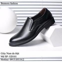 Giày lười da thật - Mẫu mới sang trọng