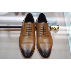 Giày cột dây công sở, giày da nam công sở oxford đẹp nhất 2017