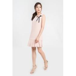 Đầm suông peplum chất liệu cao cấp