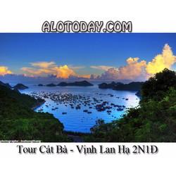 Tour Cát Bà - Vịnh Lan Hạ 2N1Đ khởi hành hàng ngày