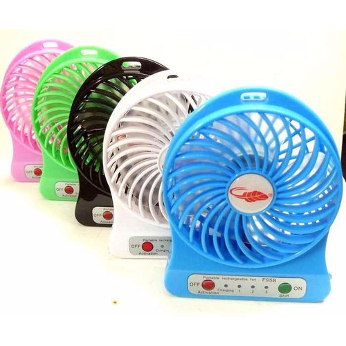 Quạt điều hòa Quạt mini fan xài pin sạc tích điện có đèn - 4428396 , 9041159 , 15_9041159 , 59000 , Quat-dieu-hoa-Quat-mini-fan-xai-pin-sac-tich-dien-co-den-15_9041159 , sendo.vn , Quạt điều hòa Quạt mini fan xài pin sạc tích điện có đèn