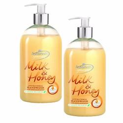 Bộ 2 Nước rửa tay diệt khuẩn sữa tươi  và mật ong C4550