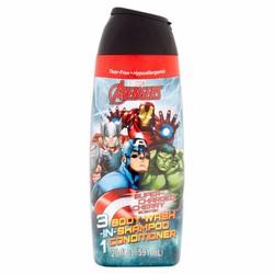 DẦU TẮM GỘI XÃ BÉ Avengers MÙI cherry  3 in 1 TỪ MỸ 591ML