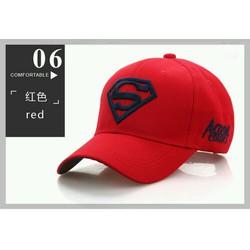 Mũ thêu hình logo Superman hàng đảm bảo giống hình