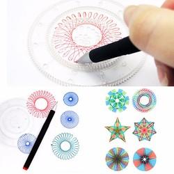 Bộ thước vẽ sáng tạo Spirograph