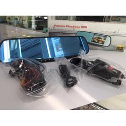 camera giám sát hành trình giá rẻ tích hợp gương chiếu hậu