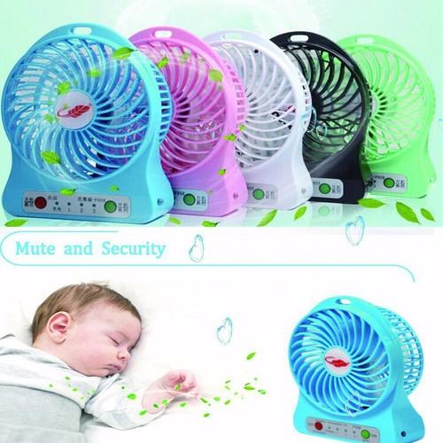 Quạt tích điện mini fan