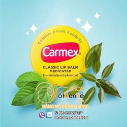 Son dưỡng Carmex Classic Lip Balm dạng hủ dưỡng chuyên sâu