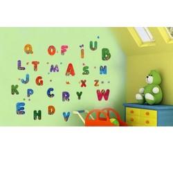Decal dán tường bảng chữ cái 1