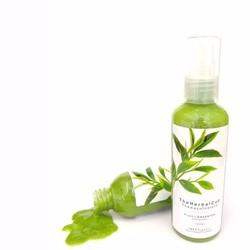Gel rửa mặt Trà xanh The Herbal Cup 100ml trị mụn sáng da