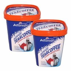 Bộ 2 Chất tẩy rửa cặn trà, cà phê, vệ sinh lồng máy giặt Astonish