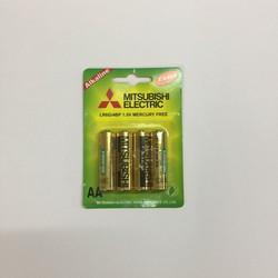 Pin 2A Alkaline Mitsubishi 4 viên
