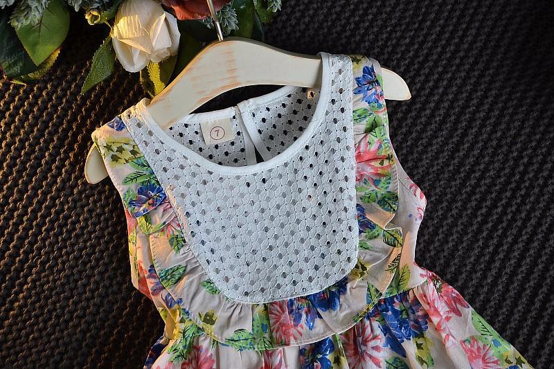 Váy Đầm hoa bé gái 2- 3 tuổi 1