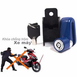 Ổ khóa chống  thắng đĩa chống trộm dành cho xe máy