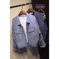 áo khoác jean cực chất