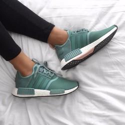 giày nmd xanh mint