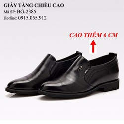 Giày tăng chiều cao 6cm - Giày công sở sang trọng