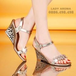 Giày đế xuồng nữ cá tính LADY AROMA