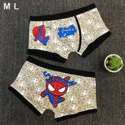 Quần lót hoạt hình Spiderman