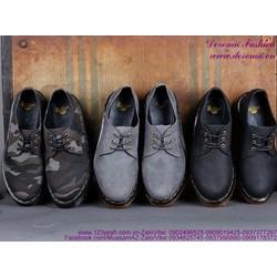 Giày Doctor nam cổ thấp mẫu mới về sành điệu GDOC36