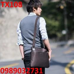 HÀNG NHẬP - Túi xách nam sọc caro thời trang - TX108