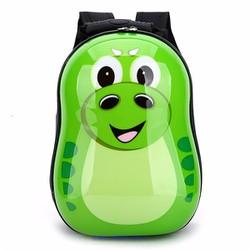 Ba lô nhựa xinh xắn dành cho trẻ em thú cưng xanh