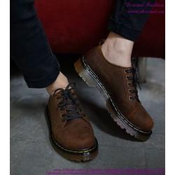 Giày Doctor nam cổ thấp mẫu mới phong cách sành điệu GDOC21