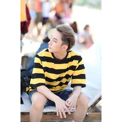 Áo sọc vàng đen