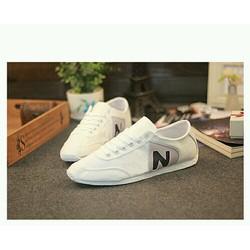 Giày nam thể thao chữ N thiết kế đơn giản phong cách thoải mái