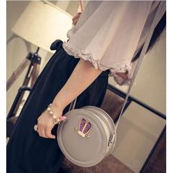 shop HAMI BOUTI - Túi đeo chéo dễ thương hình tai thỏ tròn - T4845