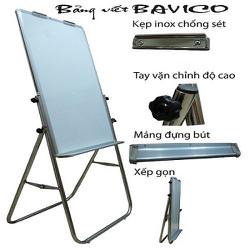 Bảng Flipchart viết bút lông từ Hàn Quốc , chân inox KT 100 x 60cm