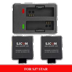 Combo 1 sạc đôi + 2 pin cho SJ7 STAR