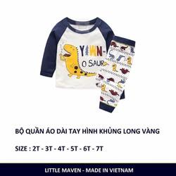 Mẫu Thu Đông dài tay cho bé Trai 2017