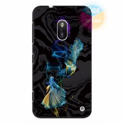 Ốp lưng Nokia Lumia 620 in hình Họa tiết cá