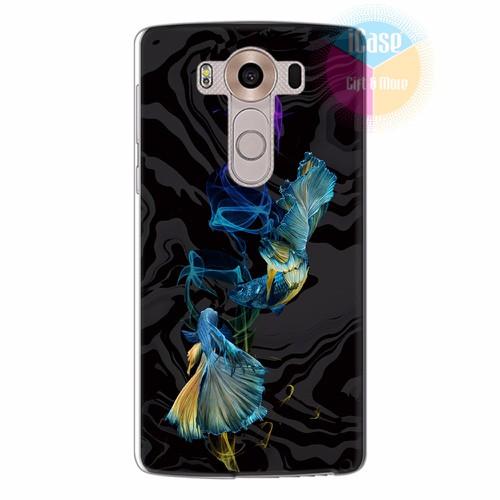 Ốp lưng LG V10 in hình Họa tiết cá