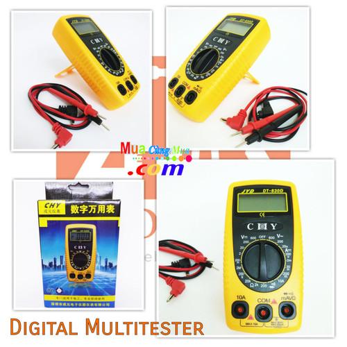 Thiết bị dụng cụ đo điện điện tử CHY DT-830D