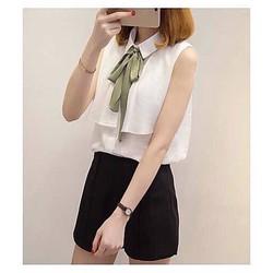 Set bộ thời trang quần short -