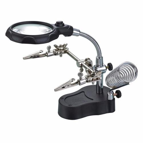 Kính lúp soi kẹp hàn mạch điện tử có đèn led - 5041615 , 6271595 , 15_6271595 , 150000 , Kinh-lup-soi-kep-han-mach-dien-tu-co-den-led-15_6271595 , sendo.vn , Kính lúp soi kẹp hàn mạch điện tử có đèn led