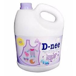 nước  giặt  xã quần áo em bé D-Nee 3000ml tím