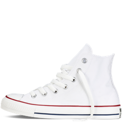 Giày Sneaker Trắng Cổ Cao - Nữ