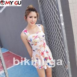 Bộ bikini xinh xắn, đáng yêu BI04 - Màu trắng 2