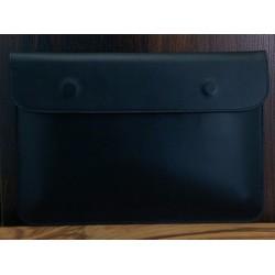Bao Da Macbook 12 Inch Da Bò Màu Đen