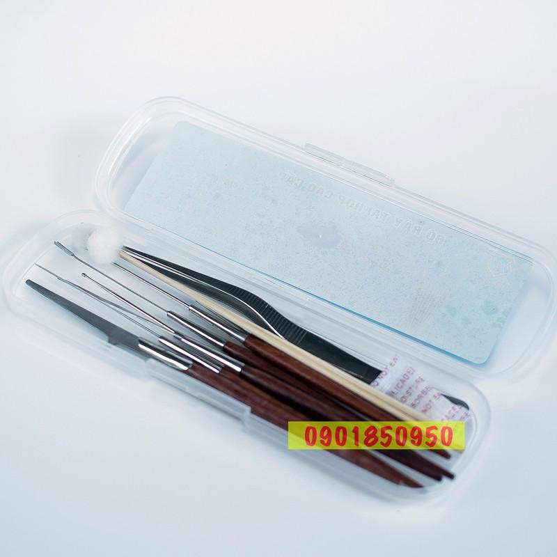 Bộ dụng cụ lấy ráy tai 10 món có hộp đựng tiện dụng 2