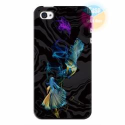 Ốp lưng iPhone 4s in hình Họa tiết cá