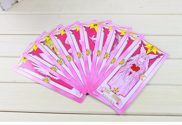 Hộp thẻ bài sakura 54 lá - Cardcaptor Sakura 4