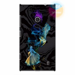 Ốp lưng Nokia Lumia 520 in hình Họa tiết cá