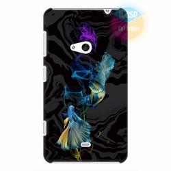 Ốp lưng Nokia Lumia 625 in hình Họa tiết cá