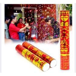 Combo 3 ống thụt hoa giấy loại cực đại cho tiệc cưới, sinh nhật..60cm