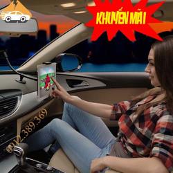 Giá Đỡ Máy Tính Bảng kiêm giá đỡ điện thoại trên xe hơi